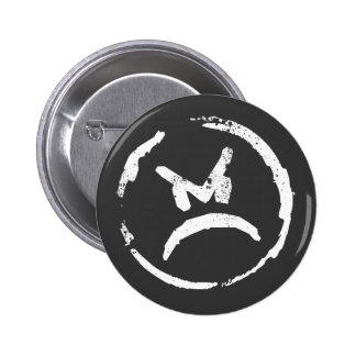 Angry 2 pinback button
