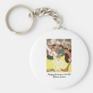 Angry about your 401(k)? Blame Vermin! Keychain