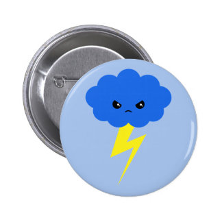 Angry Amagumo Pinback Buttons