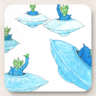 Angry, Angry Martians Beverage Coaster