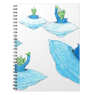 Angry, Angry Martians Notebook