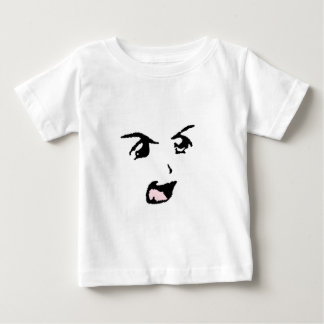 Angry Anime Eyes Baby T-Shirt