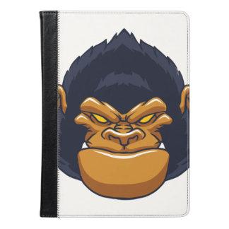 angry ape gorilla face iPad air case