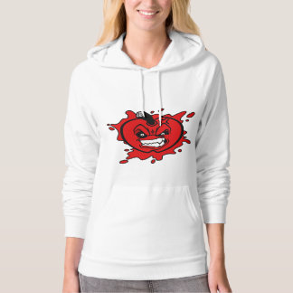 Angry Apple Women's Pullover Hoodie