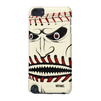 Angry Baseball Ball Character iPod Touch 5 Case