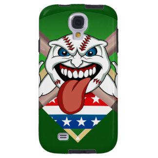 Angry Baseball Ball Pitch Bats  Samsung  S4 Case Galaxy S4 Case