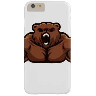 Angry Bear Barely There iPhone 6 Plus Case