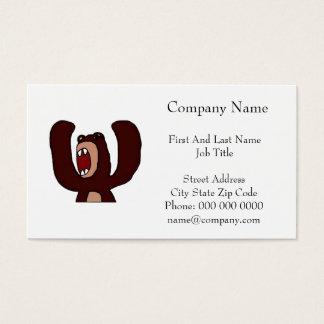 Angry Bear Business Card