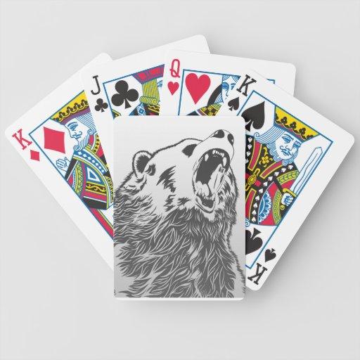 _angry_bear_ cartas de juego