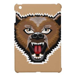 Angry Bear cartoon iPad Mini Case