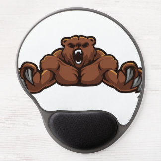 Angry Bear Gel Mouse Pad