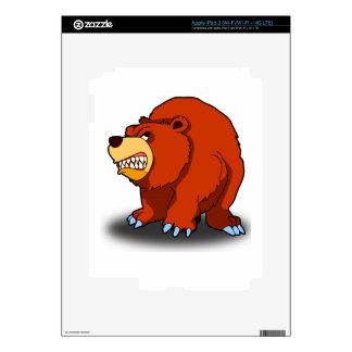 Angry Bear iPad 3 Skin