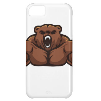Angry Bear iPhone 5C Cover