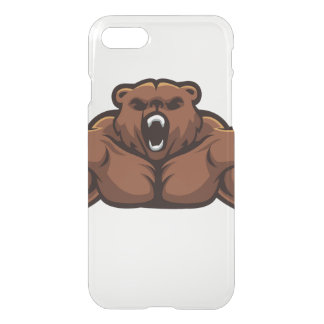 Angry Bear iPhone 7 Case