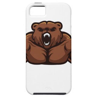 Angry Bear iPhone SE/5/5s Case