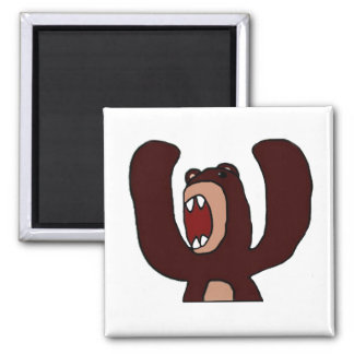 Angry Bear Magnet