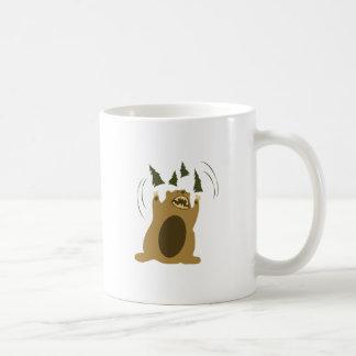 Angry Bear Classic White Coffee Mug