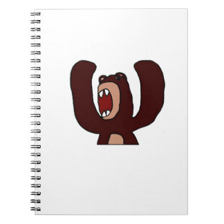 Angry Bear Notebook