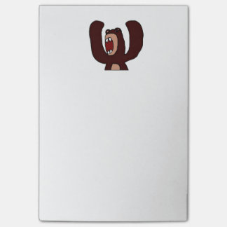 Angry Bear Post-it Notes