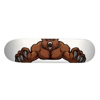 Angry Bear Skateboard Deck