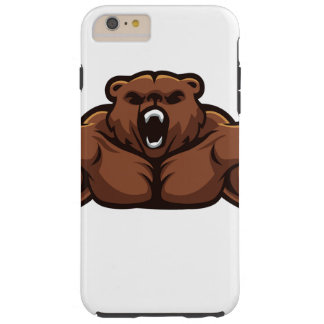 Angry Bear Tough iPhone 6 Plus Case