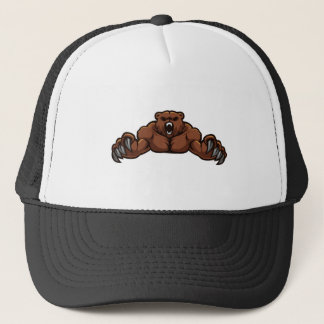 Angry Bear Trucker Hat