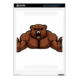 Angry Bear Xbox 360 Console Skins