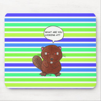 Angry Beaver Mouse Pad