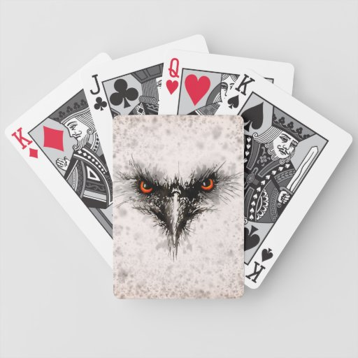 Angry Bird Bicycle Playing Cards