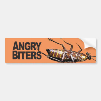Angry Biters - Bumper Sticker