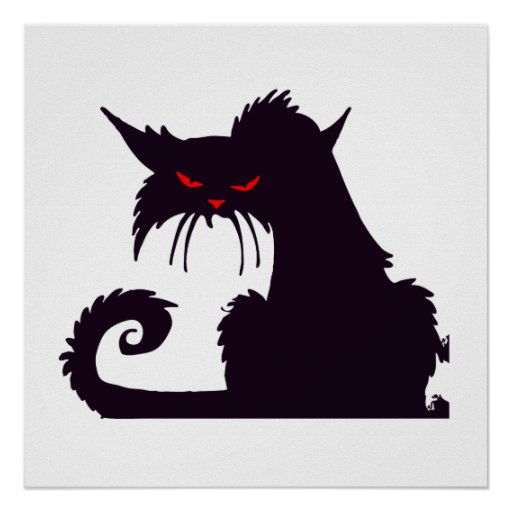 Angry Cat Posters, Angry Cat Prints, Art Prints, & Poster Designs ...