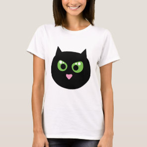 Angry Black Cat T-Shirt