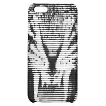 Angry Black Tiger Horizontal Lines Case For iPhone 5C