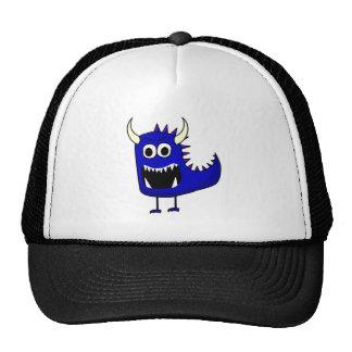 Angry Blue Monster Trucker Hat