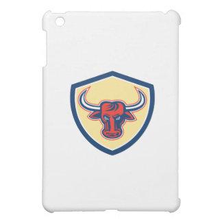 Angry Bull Head Crest Retro Case For The iPad Mini