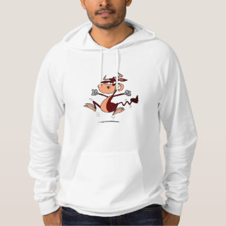 Angry Bull Hooded Pullover