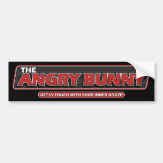 Angry Bunny 2008 Bumper Sticker 2