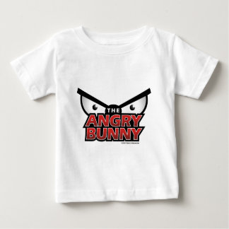 Angry Bunny Abstract Baby T-Shirt