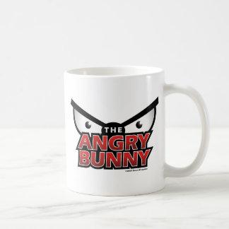Angry Bunny Abstract Coffee Mugs