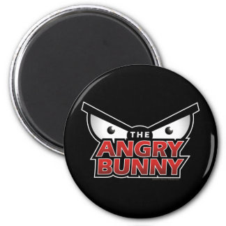Angry Bunny Abstract Refrigerator Magnets