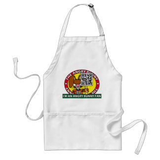 Angry Bunny Fan Aprons
