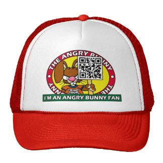Angry Bunny Fan Hat