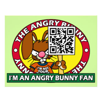 Angry Bunny Fan Letterhead