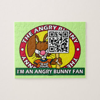 Angry Bunny Fan Puzzle