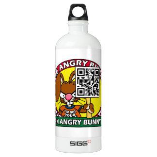 Angry Bunny Fan Water Bottle