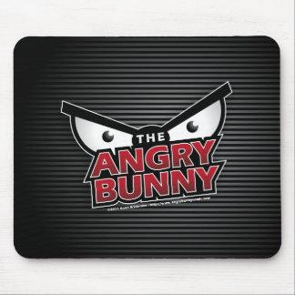 Angry Bunny Logo Mousepad