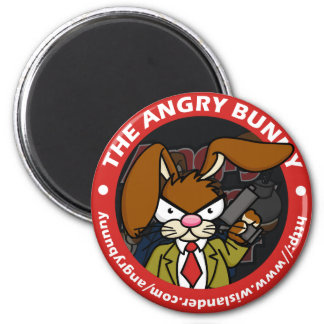 Angry Bunny Magnet Round 1
