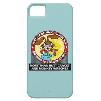 Angry Bunny Plumbing iPhone 5/5S Cases