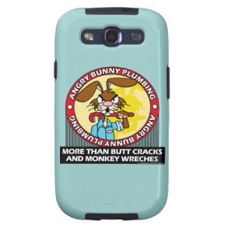 Angry Bunny Plumbing Samsung Galaxy S3 Cover