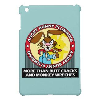 Angry Bunny Plumbing iPad Mini Covers